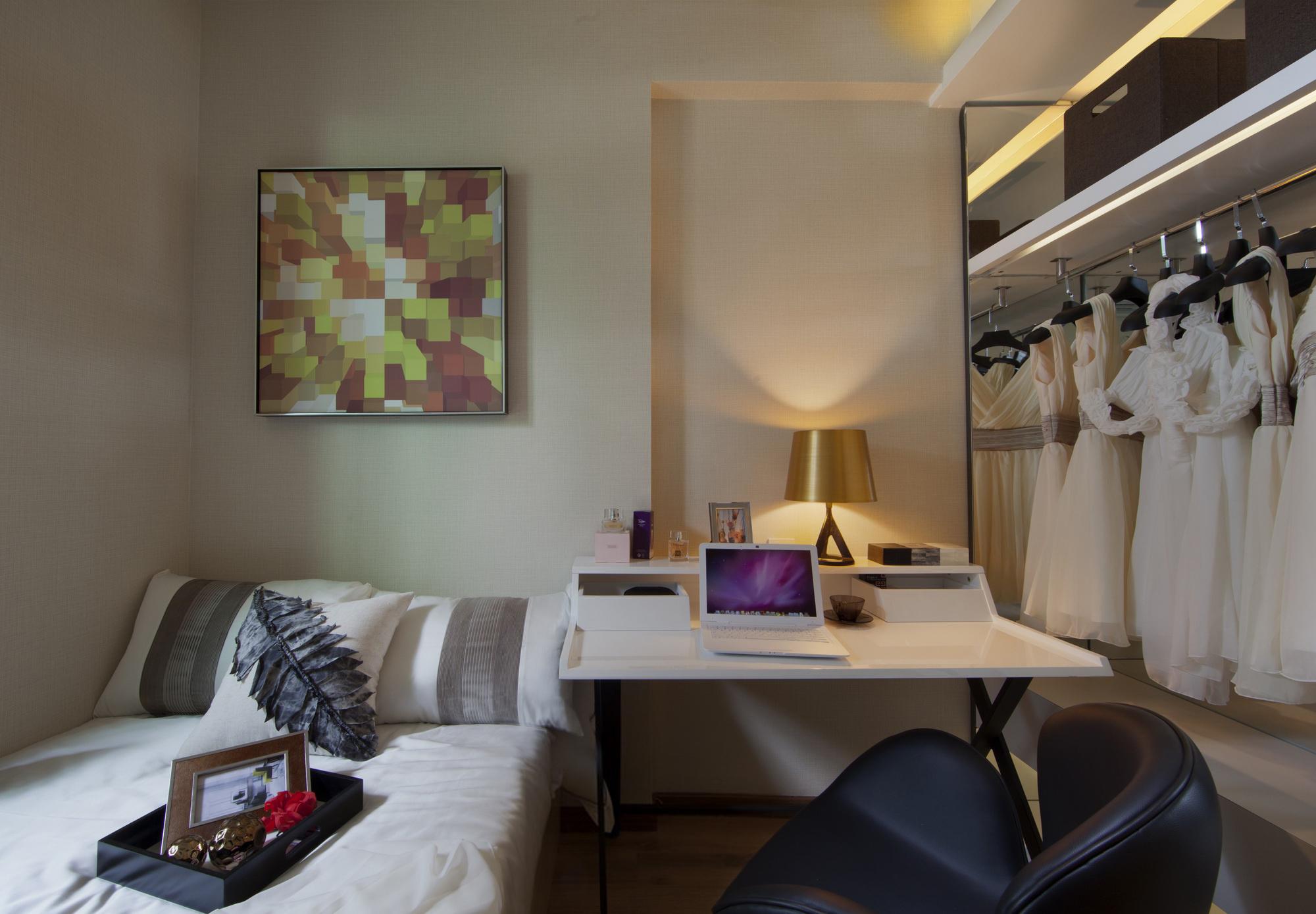 三居室现代风格书房装修效果图