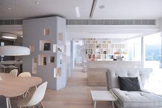 北欧简约风格一居室装修效果图