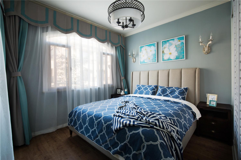 350平米美式别墅卧室装修设计图