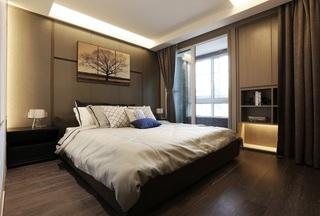 95平现代简约二居卧室装修效果