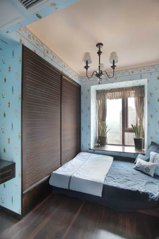 150平法式乡村风格儿童房装修效果图