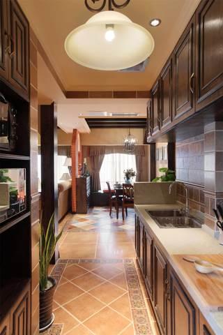 150平法式乡村风格厨房装修效果图