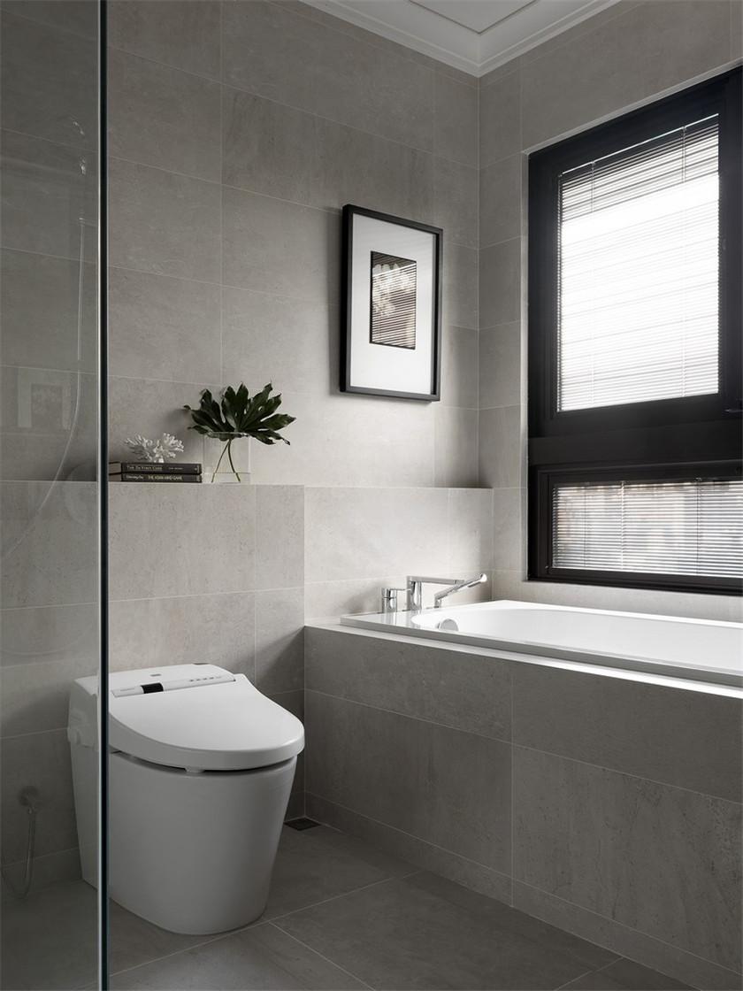 170平现代风格三居卫生间装修效果图