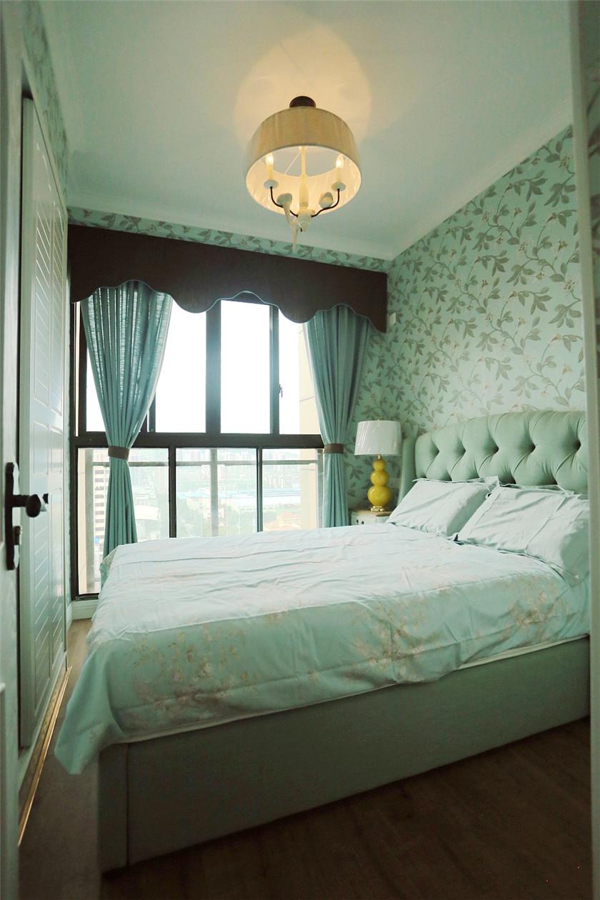 105平混搭风格三居卧室装修设计图