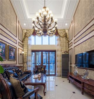 新古典美式风格别墅装修效果图