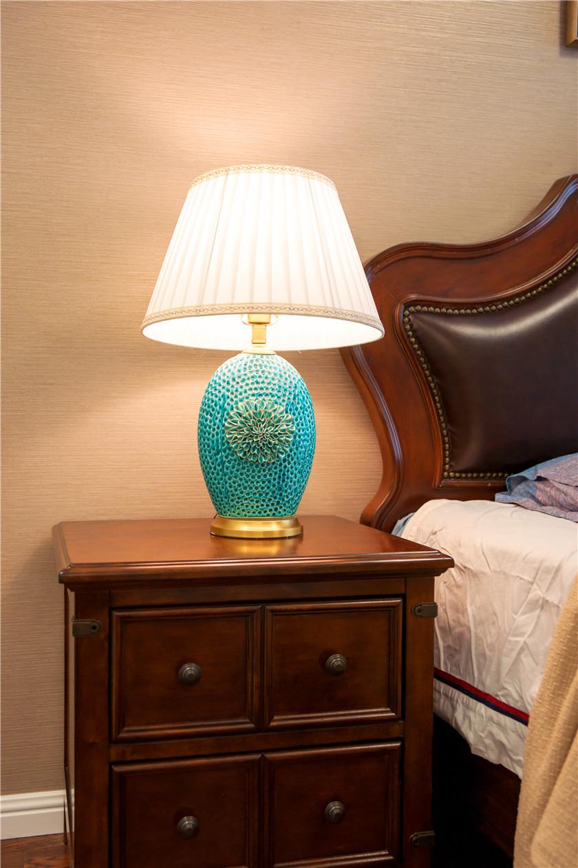 360平美式风格别墅装修台灯设计