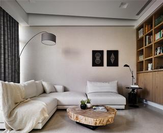 日式风格别墅装修沙发背景墙效果图