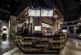 咖啡厅收银台装修设计效果图