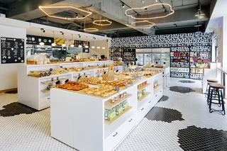 轻工业风食品店装修效果图