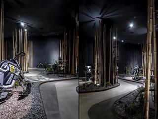 摩托车展厅设计效果图