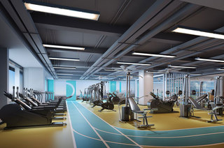 健身房装修设计效果图