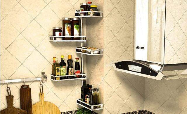 厨房收纳架不锈钢 选购技巧及效果图展示