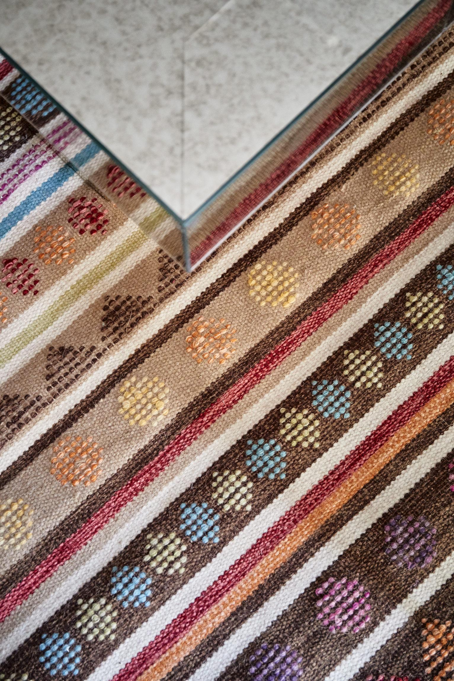 大户型法式混搭装修客厅地毯特写