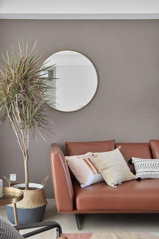 简约休闲三居室装修沙发设计图
