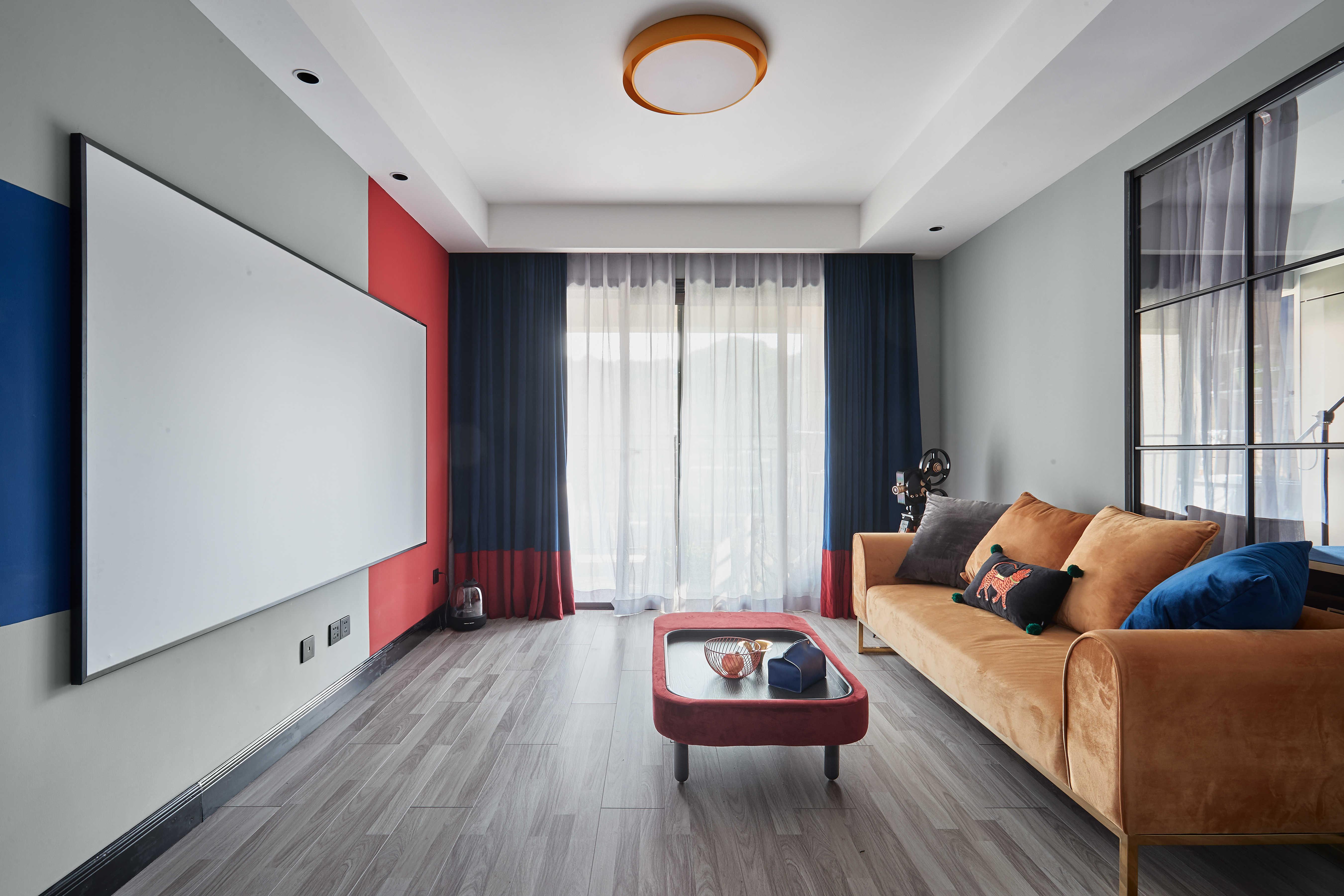 90㎡二居客厅装修效果图