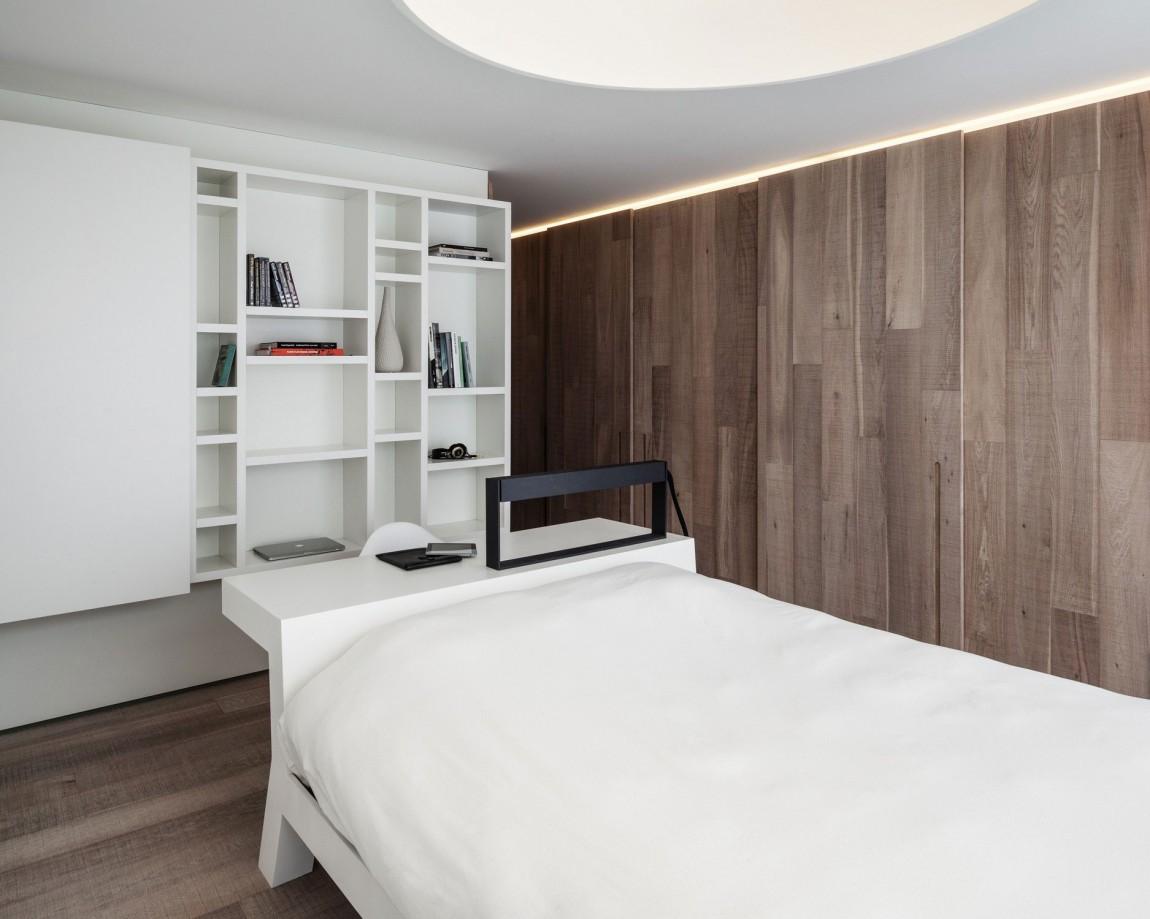 简约北欧风公寓卧室装修效果图