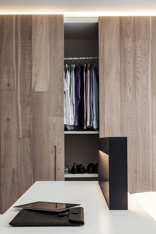 简约北欧风公寓装修衣柜设计图
