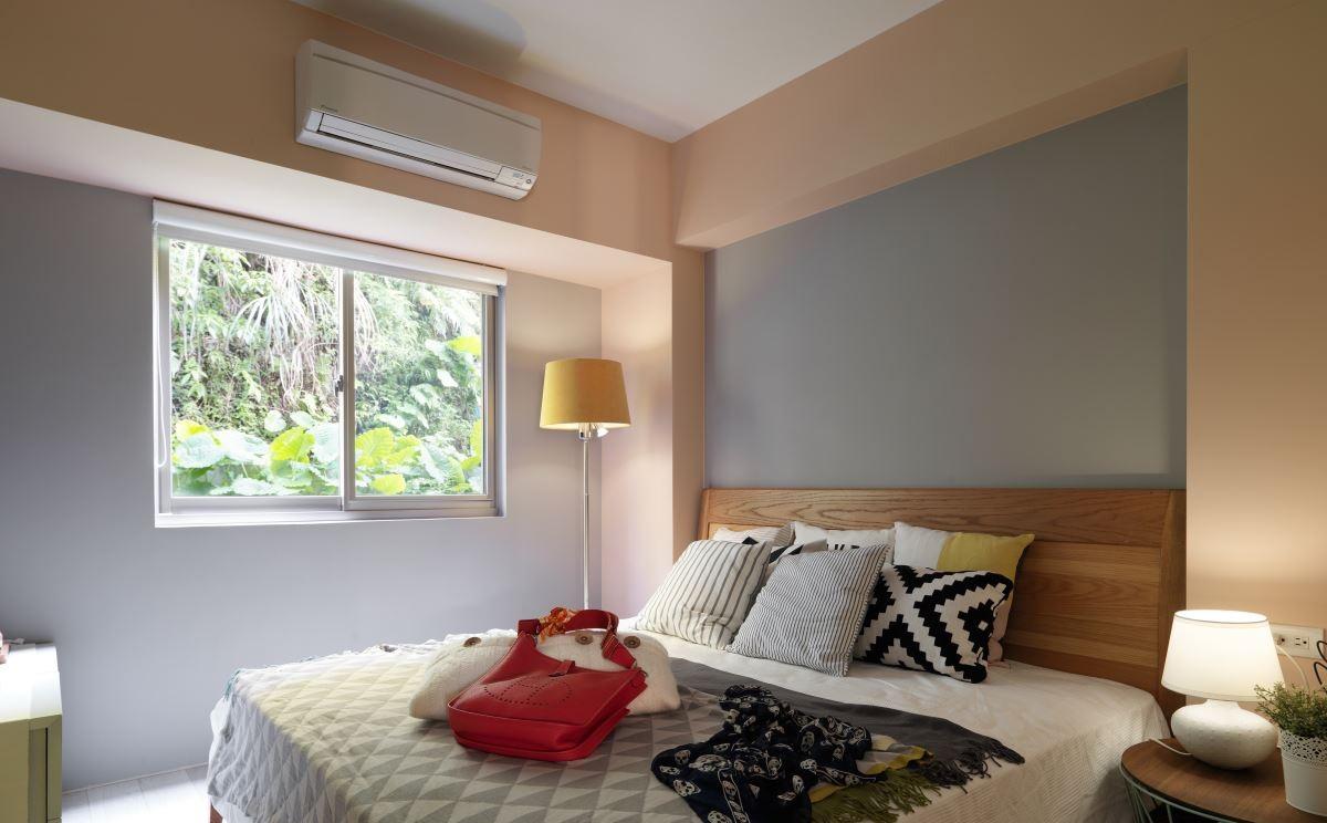 75平北欧风两居卧室装修效果图