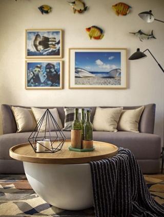 小户型北欧风两居室装修效果图