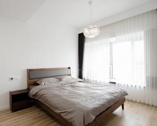 现代简约大户型卧室装修布置图