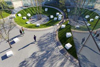 禅意园林空间设计效果图