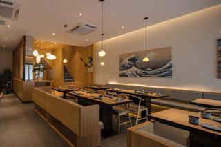 日式料理店设计效果图