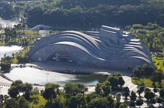 柳州奇石展览馆设计图
