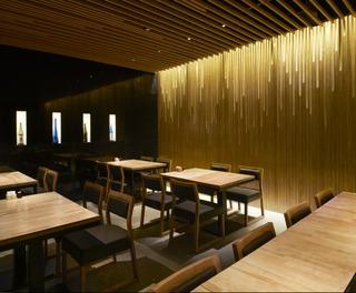 日式风格饭店装修效果图