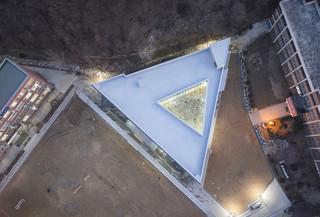 三角形学校设计效果图