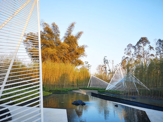 富有山水画意的园林设计