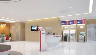 银行室内装修效果图