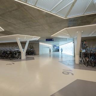 自行车停车场设计效果图