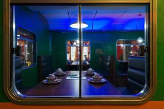 时光列车主题餐厅装修设计图