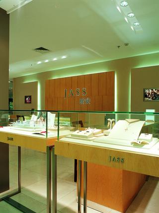 现代简约珠宝店装修设计图