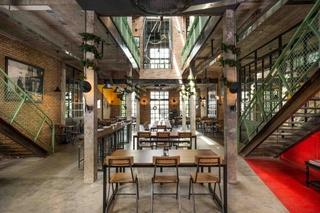 工业风格主题餐厅装修设计图