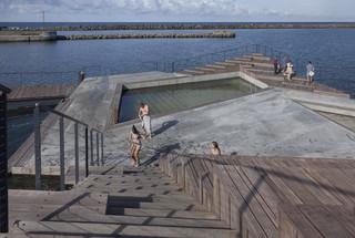 海滨浴场设计效果图