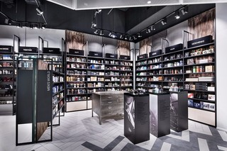 轻工业风化妆品店设计图