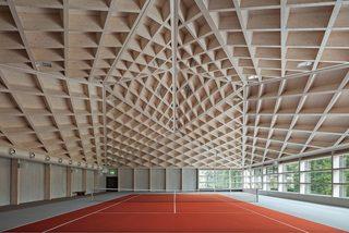 网球馆设计图