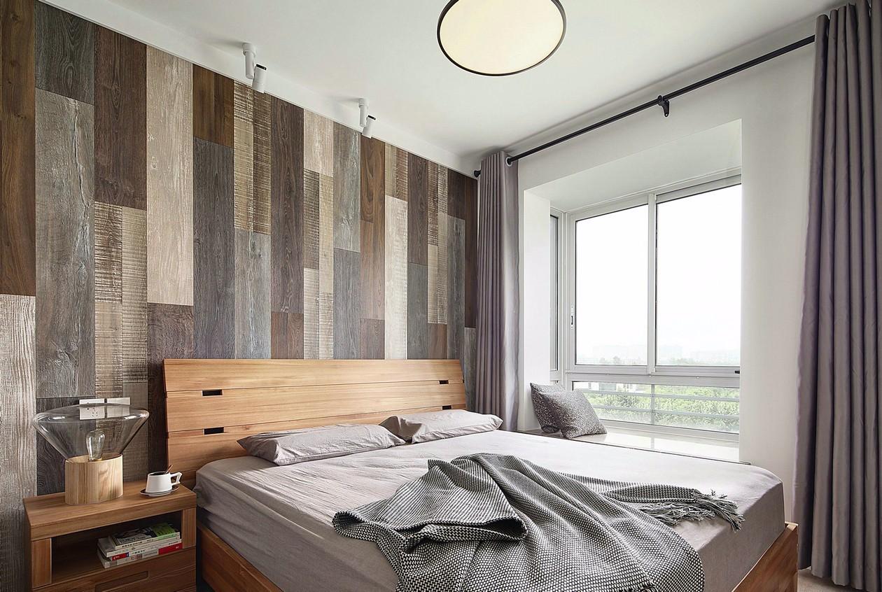 北欧混搭风格卧室装修设计图