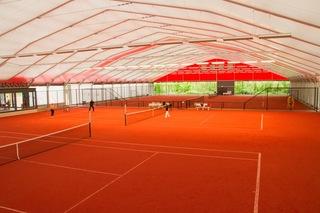 简约网球馆设计效果图