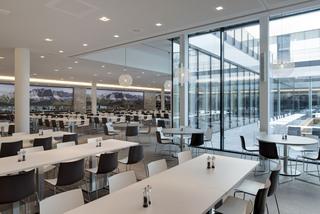 公司大型食堂装修效果图
