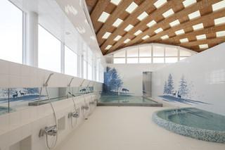 洗浴室装修效果图 简约自然