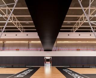 现代篮球馆设计效果图