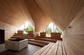 桑拿中心设计 自然质朴