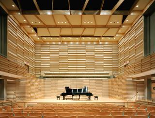 钢琴演出场馆设计效果图
