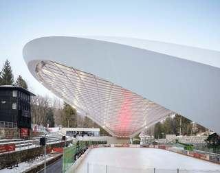 溜冰场设计效果图