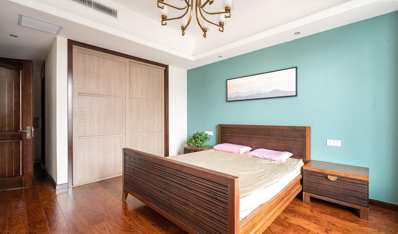 四居室新中式风格卧室装修效果图