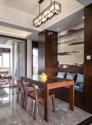 四居室新中式风格餐厅每日首存送20