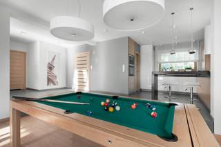 现代台球室装修效果图