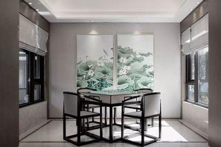 中式风格棋牌室装修效果图